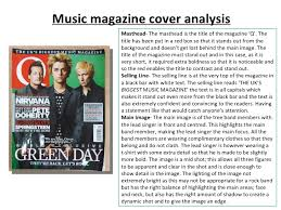 magazine cover analysis essay