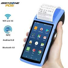 <b>IssyzonePOS Receipt Printer</b> 58mm Touch Screen PDA Android 6.0 ...