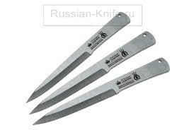 <b>Набор метательных</b> ножей Вятич, <b>3</b> шт - Спортивные ...