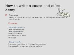cause and effect essay english language lecture slides this is only a preview