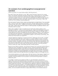 sample personal biography sample of biography essay