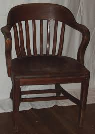 vintage desk chairs thefind antique wood office chair