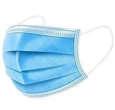 Bildos <b>3 Layer Non Woven</b> Fabric <b>Disposable</b> Surgical <b>Face</b> Mask (30)
