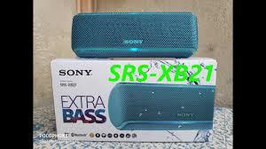 <b>Колонка SONY SRS</b>-<b>XB21</b>Обзор - YouTube