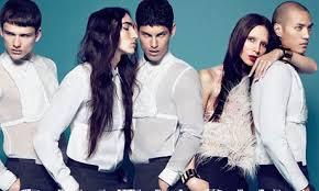 Lea T publicité Givenchy