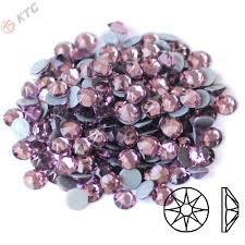 China Kingswick 2088 Light <b>Amethyst Hot</b> Fix Rhinestone Glass Iron ...
