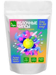 Натуральные фруктовые яблочные <b>чипсы</b> Easy to <b>eat</b> easy кисло ...