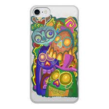 """Чехол для iPhone 8, объёмная печать """"<b>Мексиканские</b> черепа ..."""
