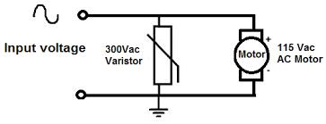 Αποτέλεσμα εικόνας για varistor how it works