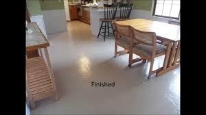 Of Kitchen Floors Painted Vinyl Floor Youtube