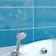 blue bathroom tile ideas: blue bathroom tiles design decorating  kitchen ideas design