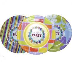 <b>Набор тарелок одноразовых</b>, микс, 6 штук (диаметр 23 см ...
