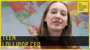Teen Invented a <b>Sugar</b>-<b>Free Lollipop</b> // 60 Second Docs - YouTube