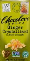 Chocolove Ginger Crystallized in Dark Chocolate Bar ... - Food 4 Less