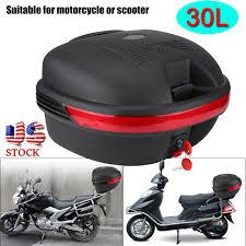 Motorcycle Trunk <b>Portable Large Capacity</b> Motorbike Tail Box ...