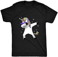 8TN <b>Dabbing Unicorn</b> Mens T Shirt: Amazon.co.uk: Clothing