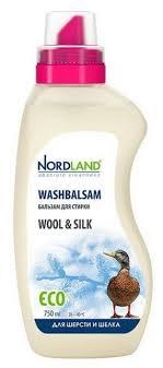 Купить <b>Бальзам для стирки Nordland</b> для шерсти и шёлка 0.75 л ...