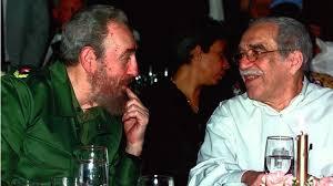 Fidel Castro junto al periodista y Premio Nóbel de Literatura, Gabriel García Márquez