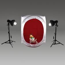 Andoer Photography Studio Cube Tent (24 x 24x 24inch) + <b>2pcs</b> ...