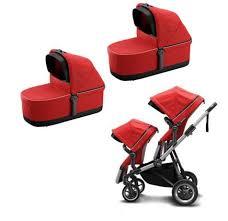Коляска 2 в 1 для двойни <b>Thule</b> Sleek Energy Red: купить в ...