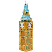 Glass <b>Big Ben</b> Christmas decoration   <b>Natural</b> History Museum ...