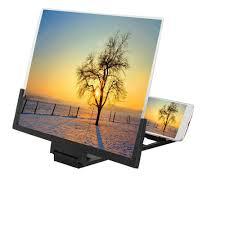 <b>14 inch Mobile Phone</b> Screen Magnifier 3D HD Amplifier Folding ...