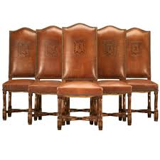 Brown Leather Dining Room Chairs Dining Room Prepossessing Fine Dining Room Chairs Krokettk