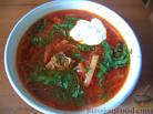 Борщ из говядины рецепт с фото пошагово