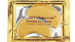 24K Pure <b>Gold Crystal Collagen</b> Anti Aging Eye Mask - Home ...