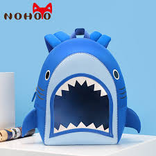 NOHOO 3D <b>Transparent</b> Shark <b>Children</b> School Bags <b>Kids Toddler</b> ...