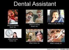 Dental Life on Pinterest | Dental Assistant, Dental Hygienist and ... via Relatably.com