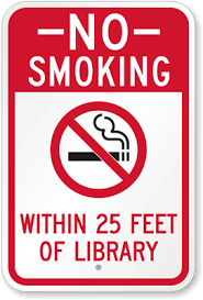 Image result for library signs