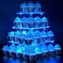 acrylic cupcake tower