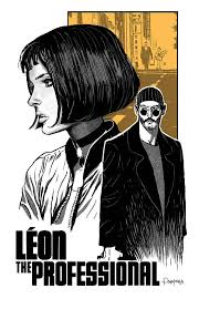 <b>Leon</b> Art Movie Poster - Canvas <b>Printing</b> (High Quality - Available in ...