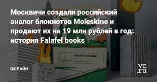 Москвичи создали российский аналог блокнотов Moleskine и ...