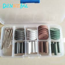 24pcs <b>Dental Lab Brush</b> Polishing Wheel Polishers for Rotary Tools ...