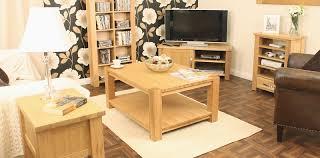 aston solid oak coffee table large baumhaus aston solid oak