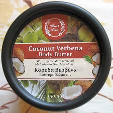 Летний десерт для <b>тела</b>: <b>Крем</b>-<b>масло для тела</b> Кокос и Вербена ...