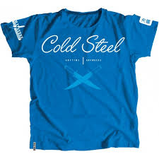 ≡ <b>Футболка Cold Steel Cross</b> Guard Blue Tee for Women (L ...