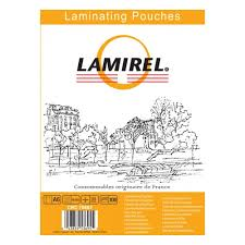 <b>Пленка для ламинирования Lamirel</b> А6, 111х154 (125 мкм) 100 шт.