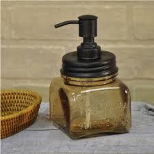 bath accessories lotion soap dispenser brown amber glass soap pump  amber glass soap pump