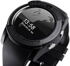 Black Men <b>V8 Smart Watch</b>, Rs 400 /piece, Navya Impex | ID ...
