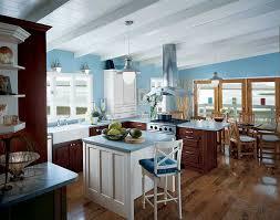 baby blue kitchen