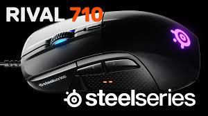Обзор и тест игровой мыши <b>Rival</b> 710 от компании <b>SteelSeries</b> ...