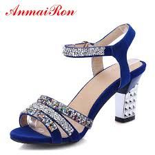 <b>ANMAIRON Women's</b> High Heels <b>Fashion</b> Sandals Pointed Toe ...