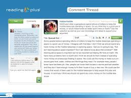 reading plus common core state standards alignment the writing portal in reading plus lets educators view edit and comment on student writing at any time from the educator s dashboard