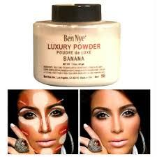 Ben Nye <b>Luxury Banana Powder Bottle</b> Face Makeup 1.5 oz/42 g NEW