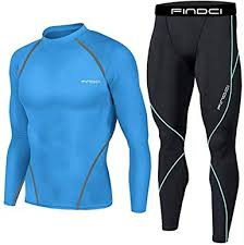 <b>Findci</b> Long Sleeve Shirt Tight Trousers <b>Mens</b> Comfortable <b>Running</b> ...
