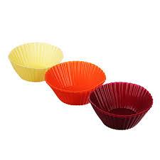 <b>Набор форм для</b> выпечки 5 шт, 7х3,5 см, <b>силикон</b> в магазинах ...