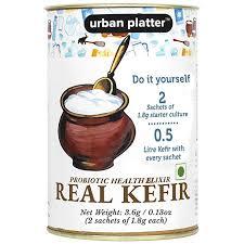 Urban Platter <b>Real</b> Kefir Starter Culture, <b>3.6g</b> / 0.13oz [Natural ...
